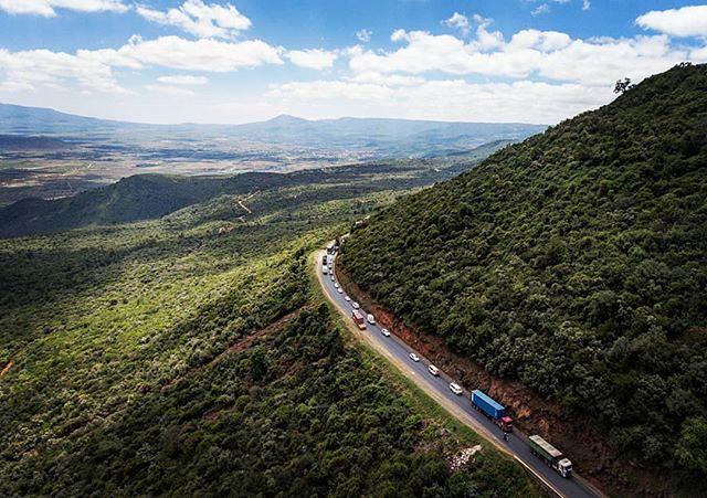 Mai Mahiu Escarpment